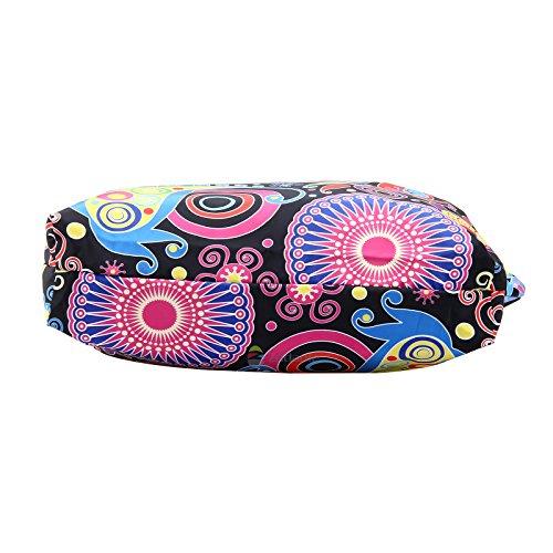 Handbag 1914 Satchel Zippered Shoulder Ladies Sb Newplenty Tote Beach Shopping Light Bag R0AnwPq