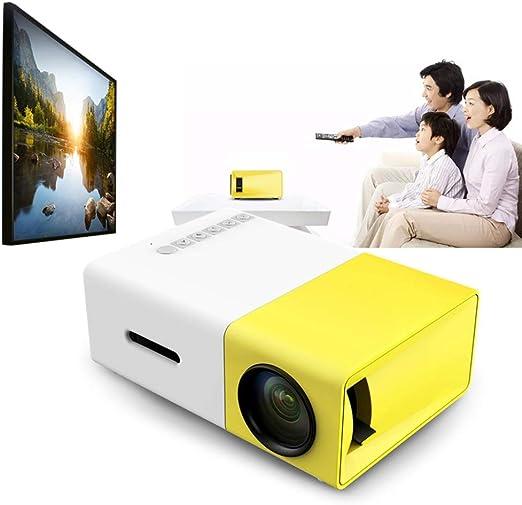 Excelvan YG300 mini proyector de bolsillo portátil.: Amazon.es: Jardín