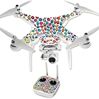 Skin For DJI Phantom 3 Professional – Color Bugs | MightySkins Protective, Durable, and Unique Vinyl Decal wrap cover | Easy To Apply, Remove, and Change Styles | Made in the USA