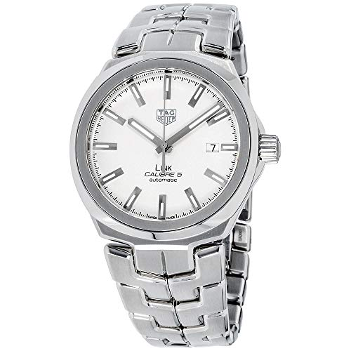 Tag Heuer Link Silver Dial Stainless Steel Men's Watch WBC2111.BA0603