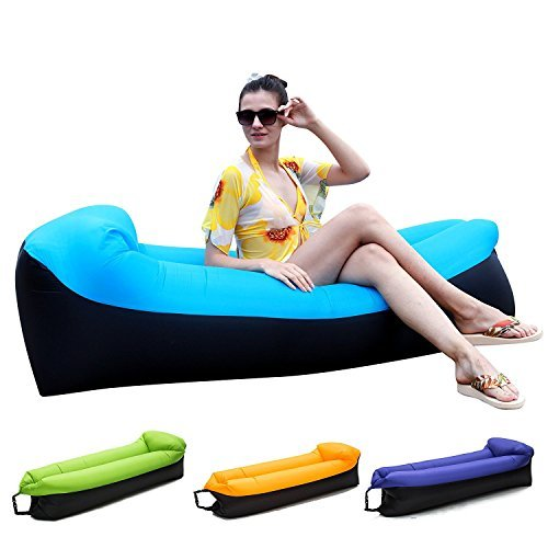 HAKE Inflatable Lounger Inflatable Air Sofa Chair Size Blue One Size Lounger [並行輸入品] B07F2D5DKB, 自転車工場直営店 チャリンクス:00fa1d36 --- imagenesgraciosas.xyz
