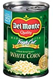Del Monte Fresh Cut White Corn - with Sea Salt 15.25 oz. (Pack of 3)