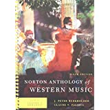Norton Anthology of Western Music, Volume 2: Classic to Romantic