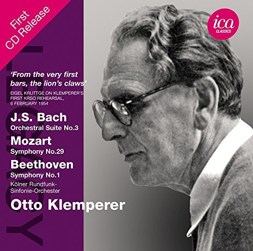 Price comparison product image Otto Kemperer Conducts [Otto Klemperer,  Kolner Rundfunk-Sinfonie Orchester] [ICA Classics: ICAC 5120] by Kolner Rundfunk-Sinfonie Orchester (2014-04-10)