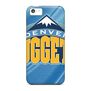 New Cute Funny Denver Nuggets Case Cover/ Case For Iphone 5C Cover Case Cover