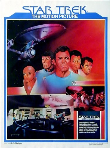 Star Trek The Motion Picture 1979 Original Movie Poster 18