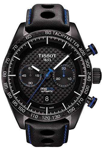 [ティソ]TISSOT PRS 516 機械式自動巻 クロノグラフ T1004273620100 メンズ