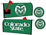 Colorado State Rams Magnetic Mailbox Cover & Sticker Set