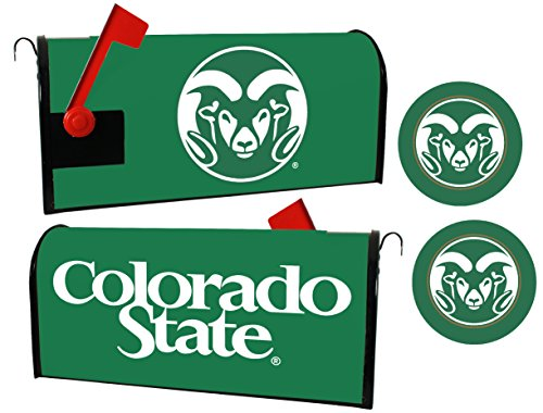 Colorado State Rams Magnetic Mailbox Cover & Sticker Set by R and R Imports
