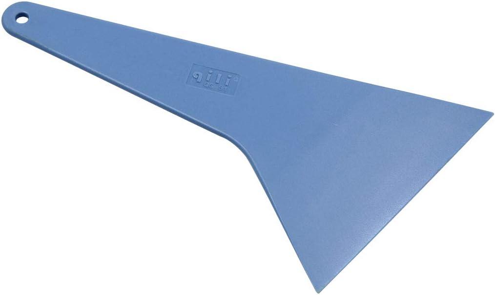 X AUTOHAUX Universal Blue Windshield Window Ice Scraper Snow Shovel Wiper for Car Vehicle