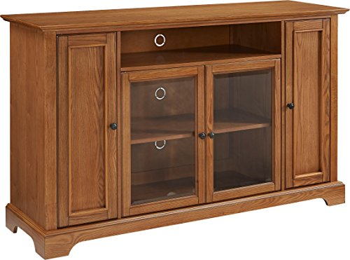 Crosley Furniture Campbell 60-inch TV Stand - Oak