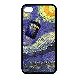 Customize Generic Rubber Material Phone Cover Doctor Who Back Case Suitable For iPhone 4 iPhone 4s