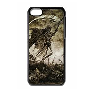 lintao diy Protection Cover Hard Case Of Grim Reaper Cell phone Case For Iphone 5C