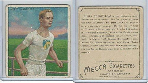 T218 Mecca/Hassan, Champions, 1910, Gusta Ljungstrom, Runner