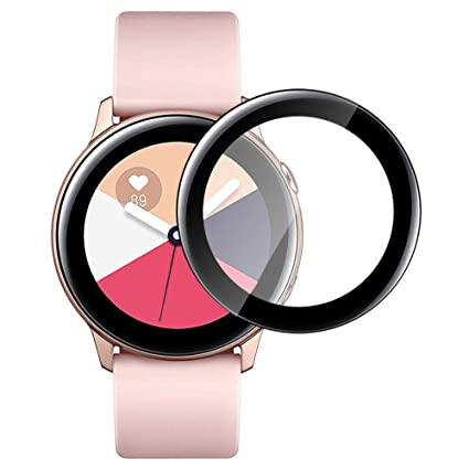 XIMU Compatible con Samsung Galaxy Watch Active 40mm Protector de ...