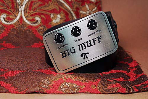 Big Muff Electric Guitar Pedal Metal Belt Buckle