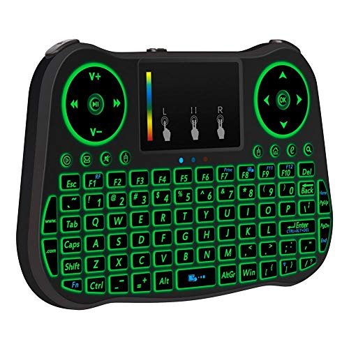 MT08 2.4 GHz 77 Keys Mini Wireless Keyboard Air Remote Mouse Control Touchp from Vipeco