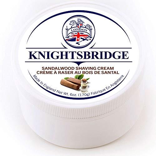 Knightsbridge Shaving Cream (Sandalwood)