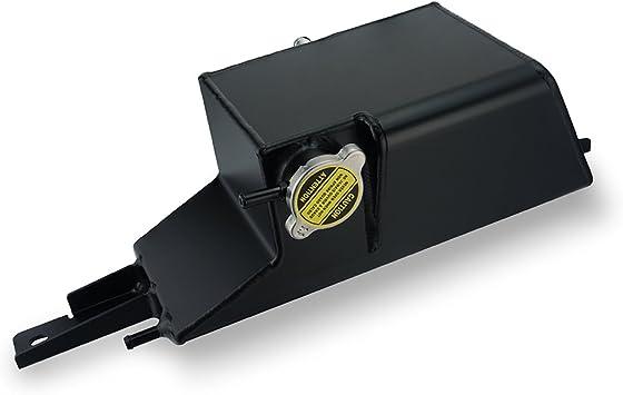 Aluminum Radiator Coolant Overflow Tank VR38DETT CAN FOR 09-17 GTR R35 HEAD/_OT/_BK