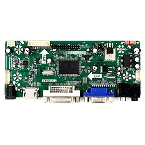 VSDISPLAY HDMI VGA DVI Audio LCD Driver Board For 11.6'' 13.3'' 14'' 15.6'' 1920x1080 N116HSE N133HSE B140HAN01.2 B156HAN01.2 30Pin edp LCD Screen by VSDISPLAY (Image #2)