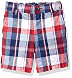 #9: The Children's Place Baby-Boys' Li'l Guy's Plaid Flat Front Shorts