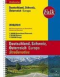 Falk Straßenatlas Deutschland, Schweiz, Österreich, Europa 2018/2019 1 : 300 000 (Falk Atlanten)