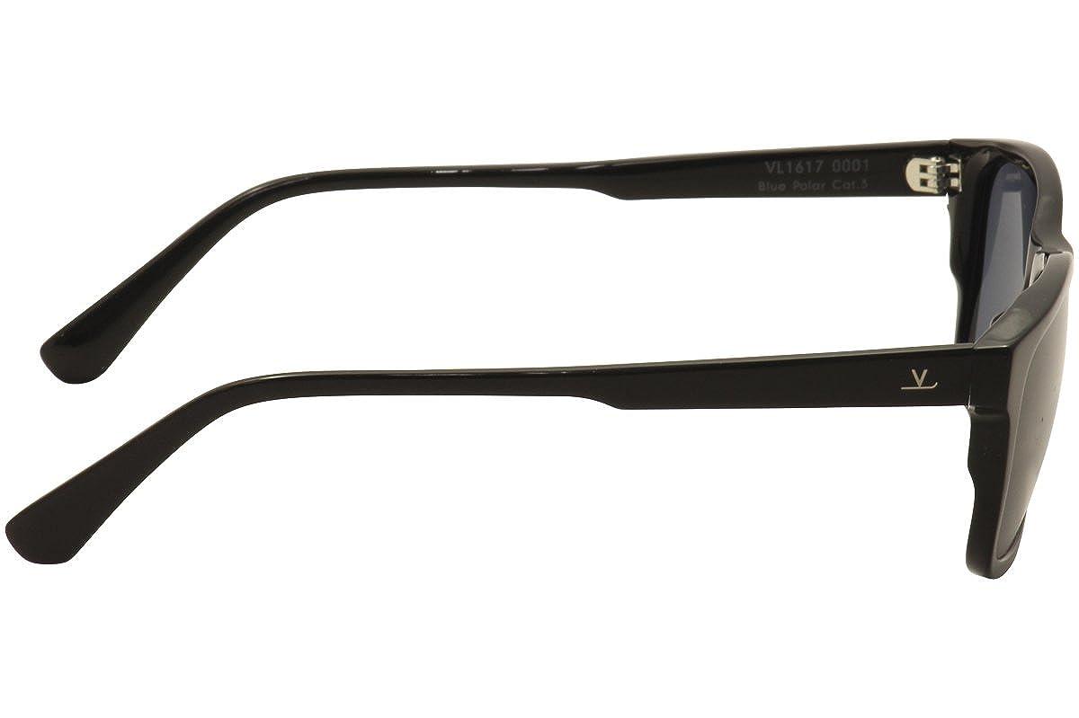 ca34f8b0b1d Amazon.com  Vuarnet VL1617 0001 (Shiny Black with Grey polarised lenses)   Clothing