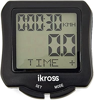 iKross Ordenador para Bicicleta, Impermeable Cuantakilometro ...