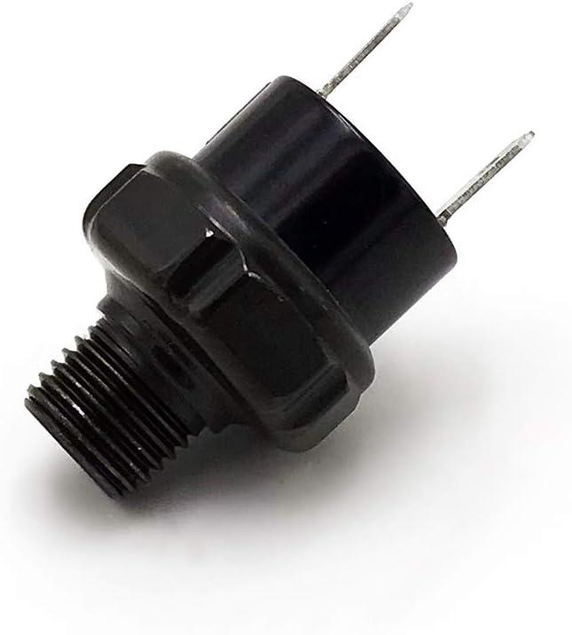 90-120 PSI NPT 1//4 Interruptor de Control de presi/ón de Aire V/álvula Bocina Compresor Tanque 12V Walmeck