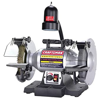 Fantastic 8 Variable Speed Bench Grinder 1 2 Hp Craftsman Power Gamerscity Chair Design For Home Gamerscityorg