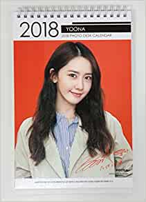 YOONA GIRLS' GENERATION SNSD - 2018-2019 PHOTO DESK ...