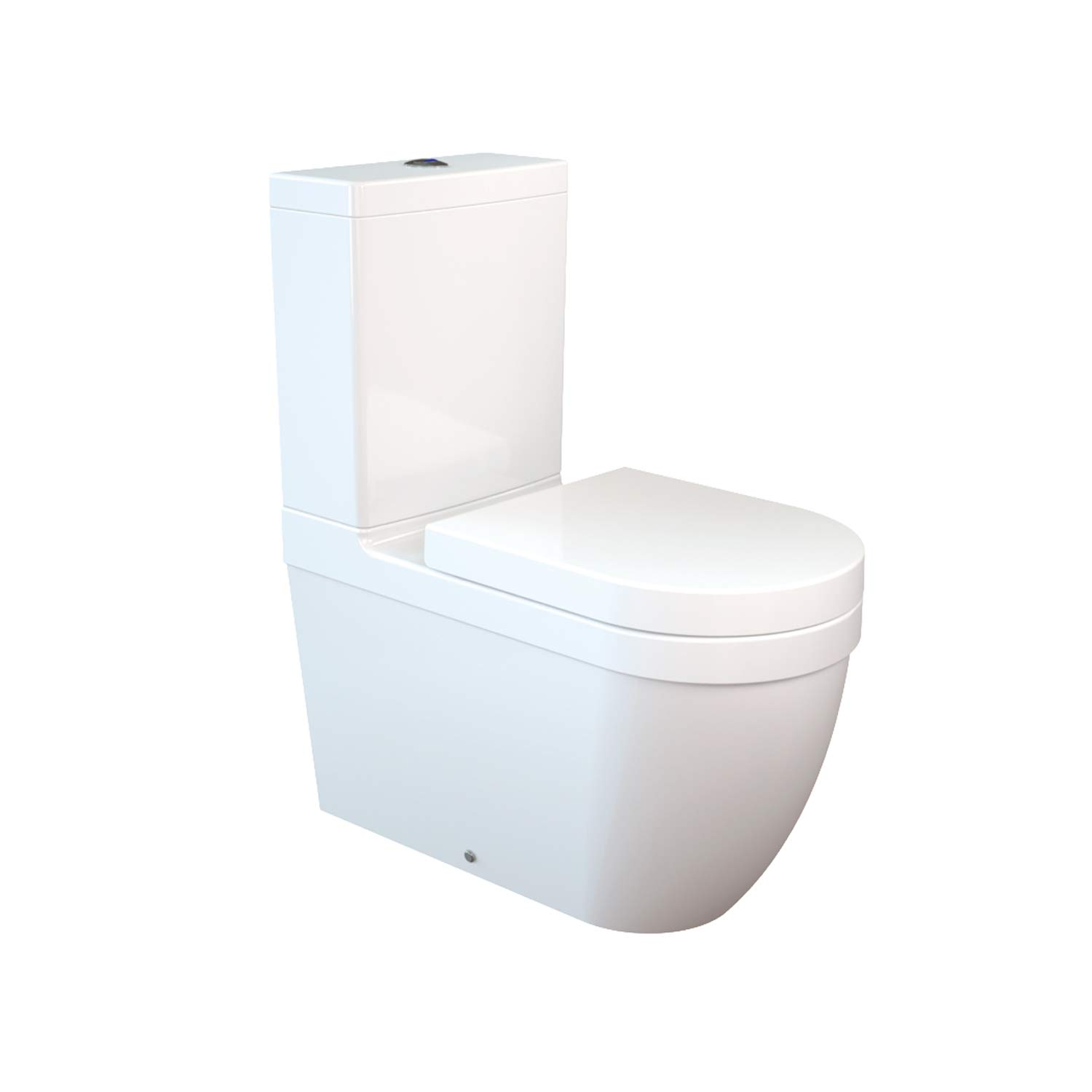 Amazing Daria All In One Combined Bidet Toilet With Soft Close Seat Machost Co Dining Chair Design Ideas Machostcouk