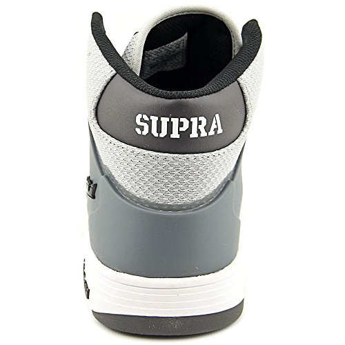 Supra Vaider 2.0 Men Round Toe Synthetic Black Skate Shoe Grey White clearance fake shopping online outlet sale discount supply buy cheap brand new unisex AQEn0