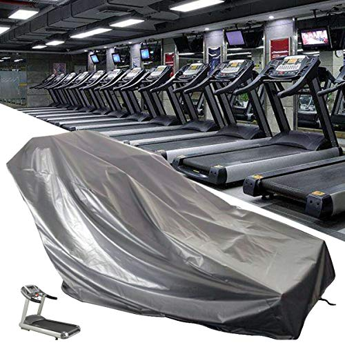 dDanke Treadmill Cover, Sports Running Machine Protective Folding Cover Dustproof Waterproof Cover, for Outside Weather Rain & Sunshine Resistance 78.74''x37.40''x59.06'' by dDanke (Image #2)