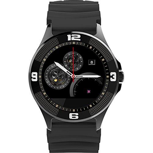 PRIXTON Smartwatch SW14 - Reloj Inteligente para iOS/Android con Pulsómetro, Notificaciones de RRSS, Mail, Llamadas