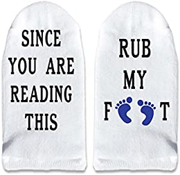 Best Price Mens No Show Funny Socks Since You Are Reading Thi Sets By Sockprints