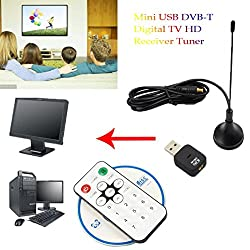 [Digital Tv Hdtv Stick Tuner Recorder Receiver],mini Usb Dvb-t Digital Tv Hd Receiver Tuner Stick Osd Mpeg-24 For Laptop Pc (Black)