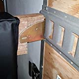 Hydraker 10 Pcs E-Track Wood Beam Socket Shelf