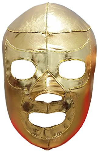 Ramses Adult Costumes (Ramses Lycra Lucha Libre Luchador Wrestling Masks Adult Size Golden)