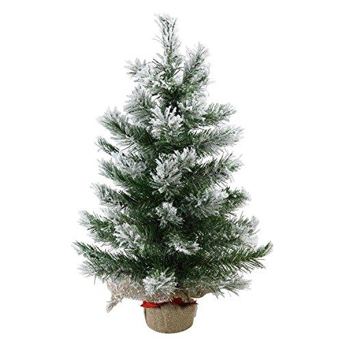 Flocked Pine Tree - 2