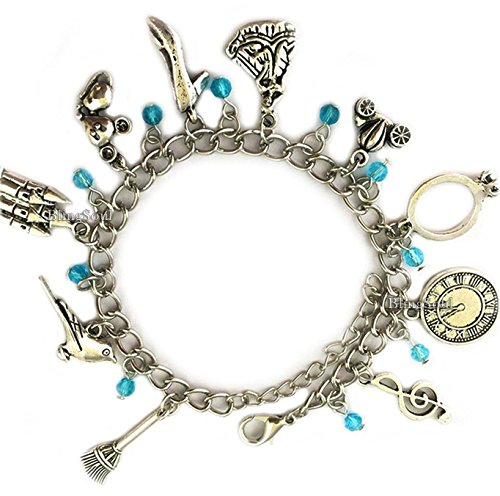 Disney Cinderella Charm Bracelet Jewelry - Cinderella Gifts for Women by BlingSoul (Image #2)