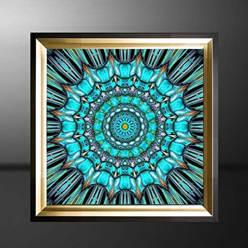 DIY 5D Diamond Painting Kaleidoscope by Number Kit 30x30cm Art Accessories Full Diamond for Home Wall Decor Gift