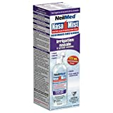 NeilMed Nasamist Full Stream Saline Nasal Spray, 6 Ounce