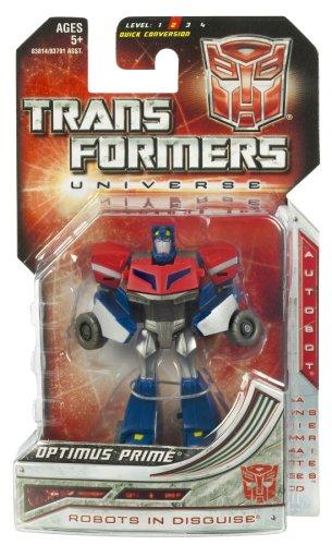 - Transformers Universe Legends Class Minibot - Animated Series Optimus Prime Cybertronian Mode