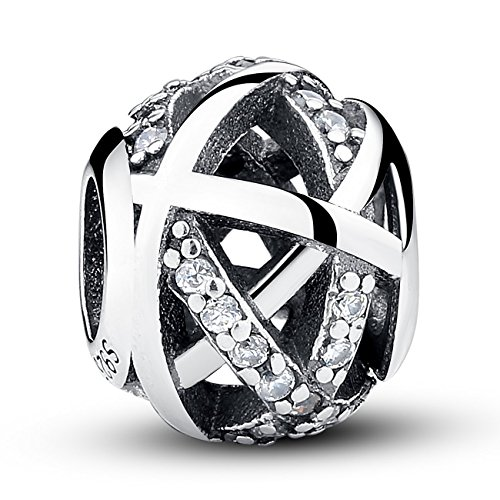 Bamoer Sterling Feathers Bracelet Necklace product image