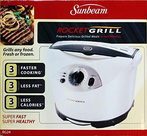 (Sunbeam Rocket Grill - Indoor Grilling Machine)