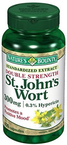Nature's Bounty St. John's Wort 300 mg Capsules 100 ea (Pack of 9) by Nature's Bounty