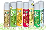 Sierra Bees, Organic Lip Balms, Variety Pack, 8 Pack, 0.15 Oz Each