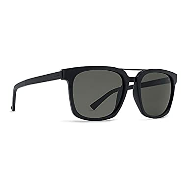 6ca1f08a66c5d Amazon.com  Vonzipper VON Zipper Sunglasses Plimpton (BLACK SATIN GREY)   Clothing