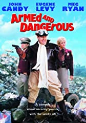 John Candy and Eugene Levy charge into the world of private security in the outrageous action-comedy ARMED AND DANGEROUS. Unfortunately, they're usually charging in the wrong direction! When Candy, a bungling cop, and Levy, an inept lawyer, l...